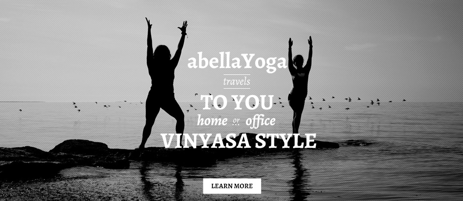 Yoga travels to you at home or at the office